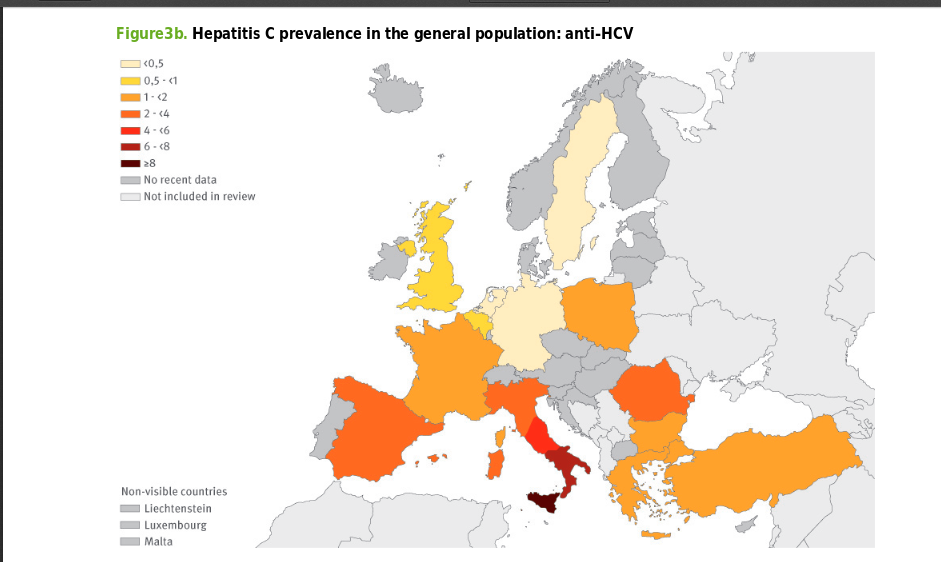 thesis hepatitis a pravalence to street Hepatitis c is a virus transmitted through contact with infected blood or blood products infection with the virus presents with few, if any, symptoms and individuals can have the virus for several decades before diagnosis.